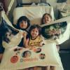 Dominic Blower Post Pals pillow