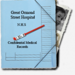 picture of Dominic's medical file