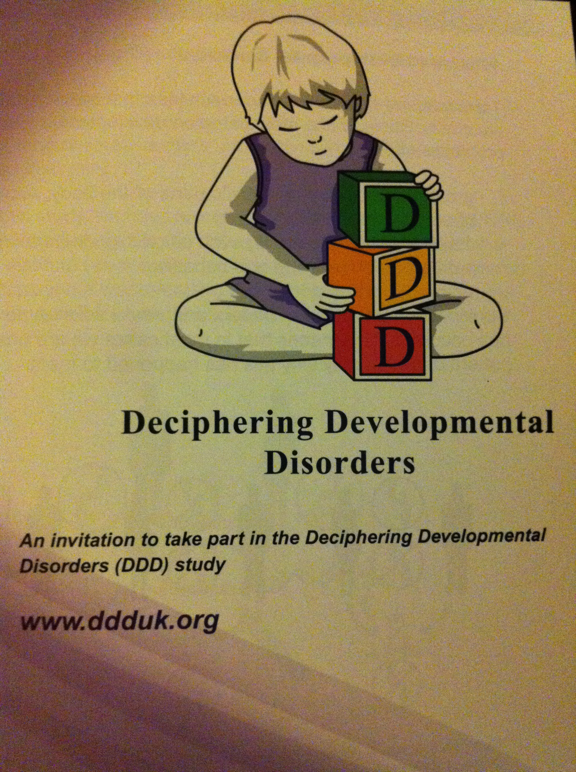 Deciphering Developmental Disorders study