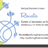Renatas business card