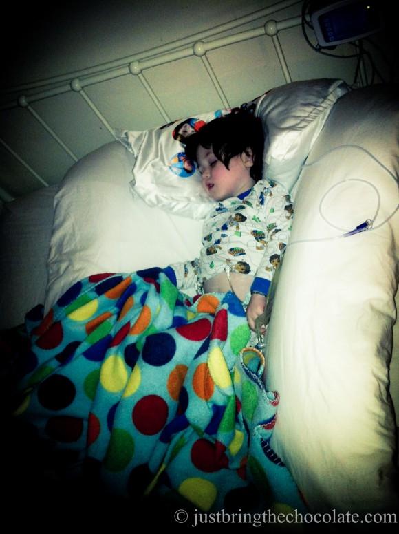 Leckey sleep system