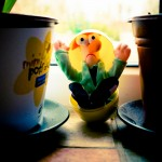 Non-chocolate Easter egg Muppets