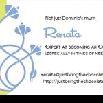 Renatas business card