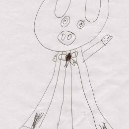 Lilia's picture of piggy blanket